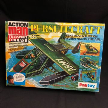 VINTAGE ACTION MAN - PURSUIT CRAFT - MINT UNUSED UNPLAYED WITH Ref2/18)